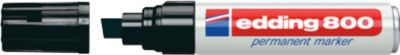 edding 800, m. Keilspitze, 4-12 mm, schwarz, 1 Stück