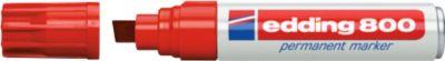 Edding permanent marker e-800, rood