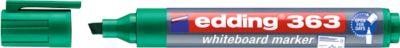 edding Whiteboard Marker 363, Keilspitze, 1 Stück, grün