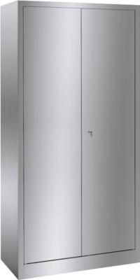 Edelstahl-Universalschrank mit 4 Böden, 1800 x 800 x 500 mm