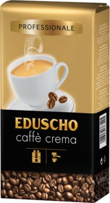 EDUSEDUSCHO Professionele koffie Crema, 1 kg, bonen