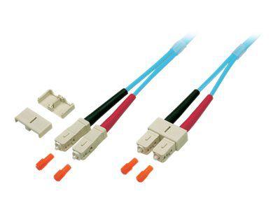 EFB-Elektronik Duplex Jumper Patch-Kabel - 50 m - Aquamarin