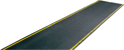 EHA Industrieel Rooster +11, zwart/geel, 1m
