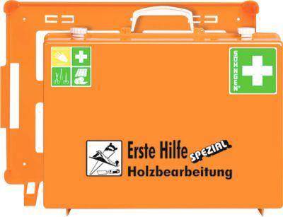 EHBO-koffer, branche houtbewerking  (volgens de Duitse normen)