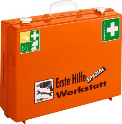 EHBO-koffer, branche werkplaats (volgens de Duitse normen)