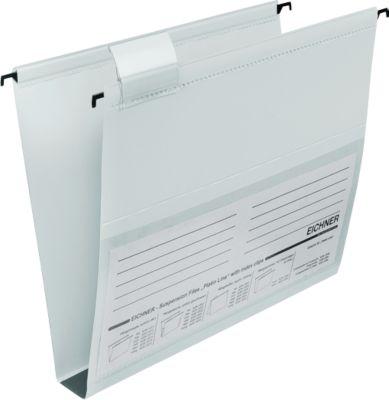 EICHNER Hängesammler, für Formate bis DIN A4, 30 mm, seitlich offen, PVC