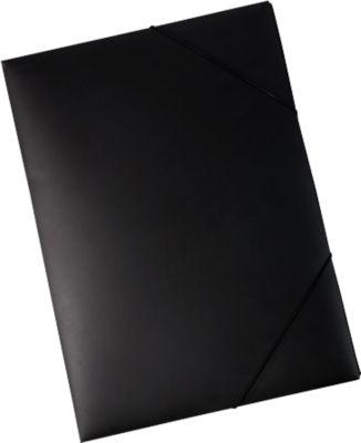 EICHNER hoekspanmap, voor A3 formaat, zwart, 5 stuks