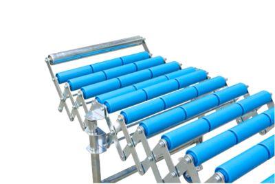Eindaanslag, vast, voor flexibele rollenbaan, baanbreedte 500 mm
