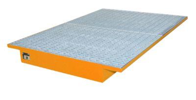 Einhängewannen für Plattenregal Typ EHW 1800, orange RAL2000