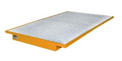 Einhängewannen für Plattenregal Typ EHW 2200, orange RAL2000