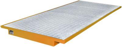 Einhängewannen für Plattenregal Typ EHW 3300, orange RAL2000