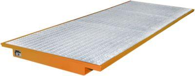 Einhängewannen für Plattenregal Typ EHW 3600, orange RAL2000