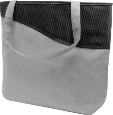 Einkaufstasche Big Volume, grau/schwarz
