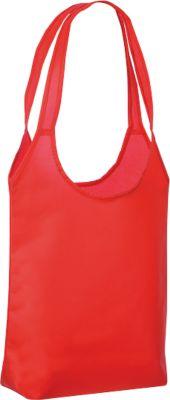 Einkaufstasche City Shopper 3, 53 cm lange Henkel, trapezförmig, rot