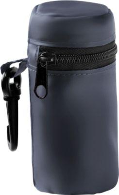 Einkaufstasche, faltbar, 190T Polyester, separates Etui, blau