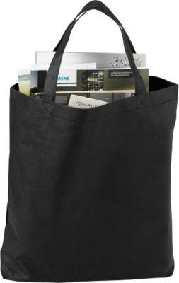 Einkaufstasche Wien, Polypropylen, schwarz