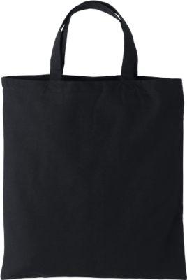 Einkaufstaschen Set, 100 Stück, Baumwolle, inkl. Siebdruck 1-farbig 300 x 300 mm + Grundkosten, schwarz