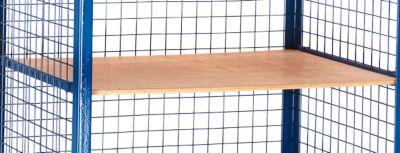 Einlegeboden für Gitter-Regalwagen, 1200 x 800 mm
