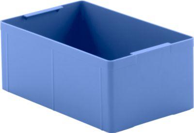 Einsatzkasten EK 113, blau, PS, 10 Stück