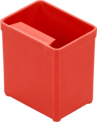 Einsatzkasten EK 551, PS, 40 Stück, rot