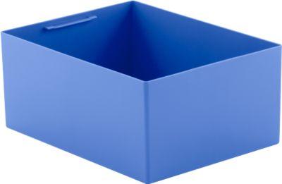 Einsatzkasten EK 6022 Q, PP, blau,10 Stück