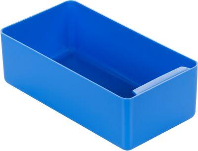 Einsatzkasten, Polystyrol, L 180 x B 96 x H 60 mm, blau