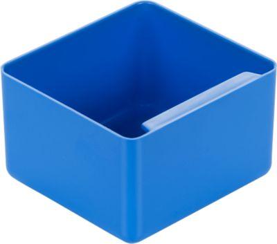 Einsatzkasten, Polystyrol, L 90 x B 96 x H 60 mm, blau