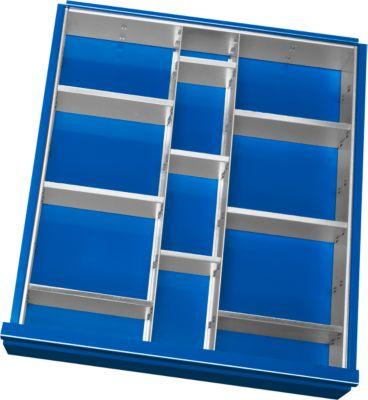 Einteilungs-SET 2-9, Schubladenhöhe 120-150 mm