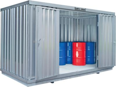 Einzel-Container SAFE TANK 1350, WGK 1-3