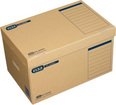 ELBA archiefcontainers tric system, b 545 x d 360 x H 320 mm, pak van 10 stuks