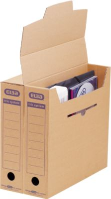 ELBA archiefdozen tric system, smal, b 76 x d 339 x H 314 mm, maxi, pak van 12 stuks