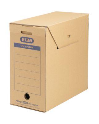 ELBA Archiv-Schachtel tric system Standard,  6 Stück, B 158 x T 333 x H 308 mm