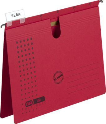 ELBA chic® ULTIMATE, Hängehefter, DIN A4, rot, 25 Stück