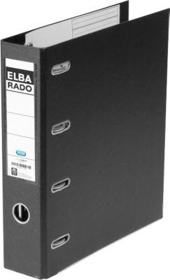 ELBA Doppelordner rado, A4, 75 mm, Wolkenmarmor