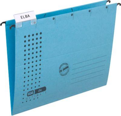 Elba hangmap chic, 25 st., blauw