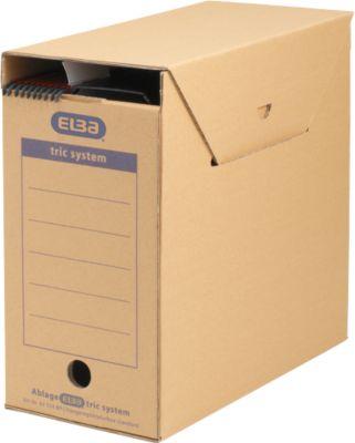 ELBA hangmappendozen maxi tric system, b 158 x d 333 x H 308 mm, pak van 6 stuks