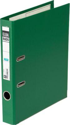 ELBA Ordner rado plast, DIN A4, Rückenbreite 50 mm, grün