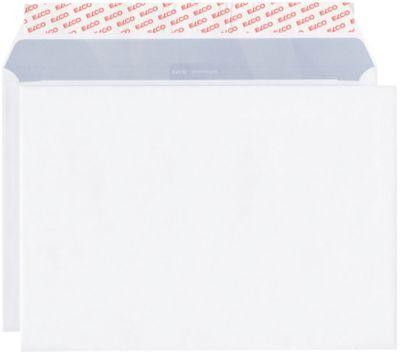 ELCO enveloppen met kleefstrook C4, 229 x 324 mm, 120 g/m², zonder venster, pak van 50 stuks