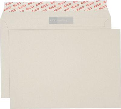 ELCO sycling-Recycling-Briefumschläge, C5, ohne Fenster, 500 Stück