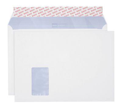 Elco Versandtaschen Premium, DIN C4, Fenster links, 250 Stück