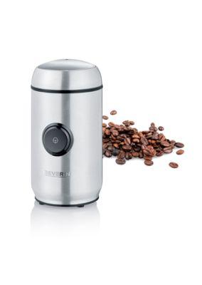 Elektrische Kaffeemühle/Gewürzmühle KM 3879, 150 W, für bis zu 50 g, Mahlgrad einstellbar, Edelstahl