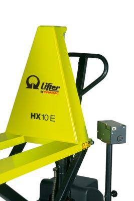 Elektrische LIFTER-schaarheftruck Pramac type HX 10E, met niveauregeling, met niveauregeling, tot 1.000 kg.