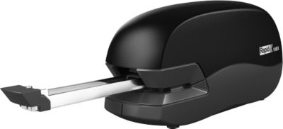 Elektrohefter Rapid 10BX Fixativ, für 24/6 & 26/6 Heftklammern, Kapazität 10 Blatt, schwarz