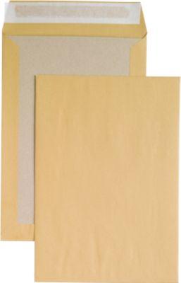 Env. kart. rug, C4, br., kl.st., 125 st.