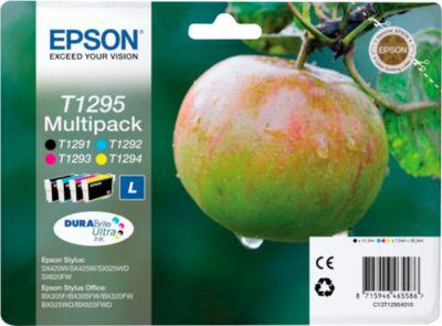 Epson 4 Tintenpatronen T12954010 cyan, magenta, gelb, schwarz