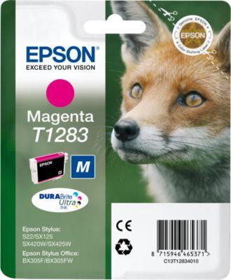 Epson inkjet Epson C13T12834010|T1283 Inktcartridge magenta, 140 Paginas, Inhoud 3,5 ml voor Stylus Of...