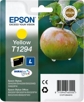 Epson Tintenpatrone T12944011 gelb