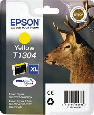 Epson Tintenpatrone T13044010 gelb