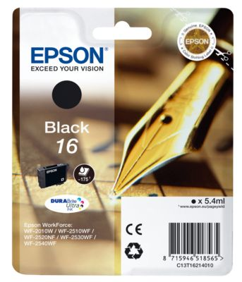 Epson Tintenpatrone T16214010 schwarz