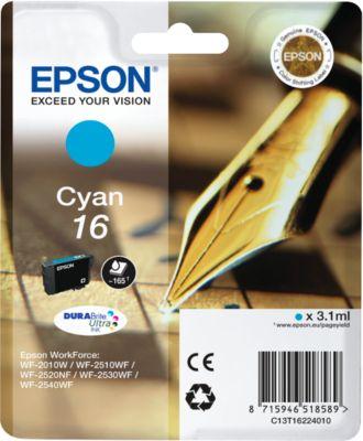 Epson Tintenpatrone T16224010 cyan